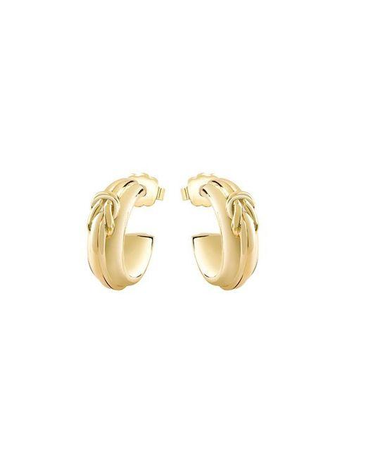 Guess | Metallic Tied In Knots Earrings | Lyst