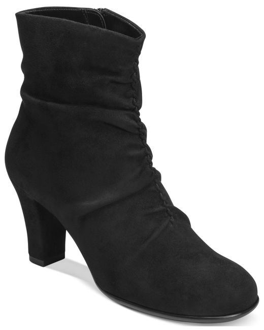 Aerosoles | Black Good Role Slouchy Booties | Lyst