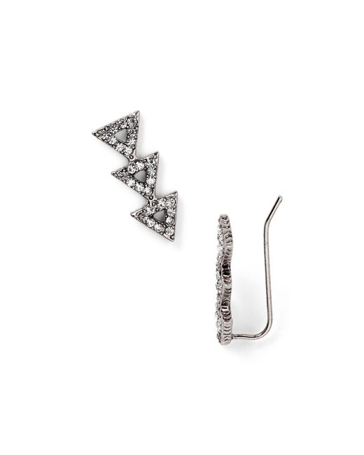 House of Harlow 1960 | Metallic Pave Tessellation Earrings | Lyst