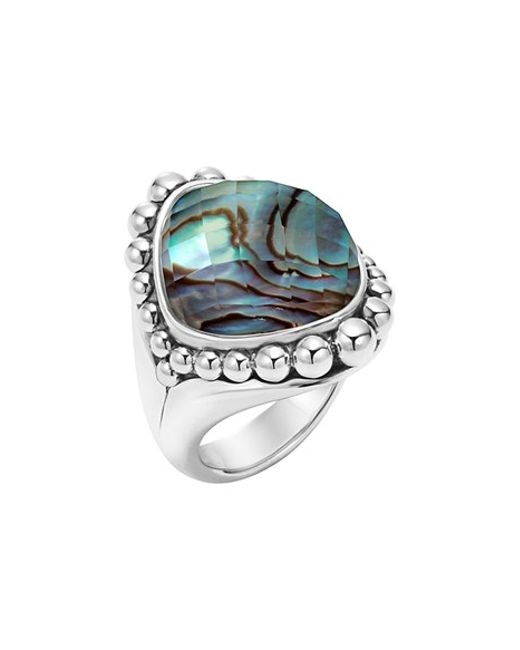 Lagos | Blue 'maya' Stone Ring | Lyst