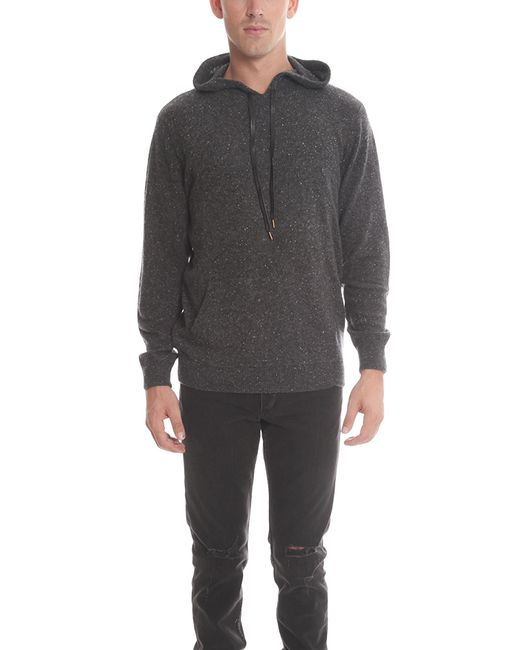 blue cream cashmere pullover hoody in black for men lyst. Black Bedroom Furniture Sets. Home Design Ideas