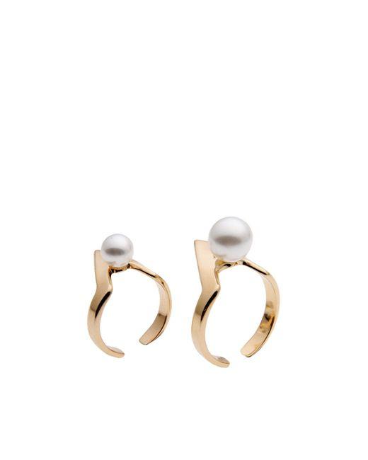 Maria Francesca Pepe   Metallic Ring   Lyst