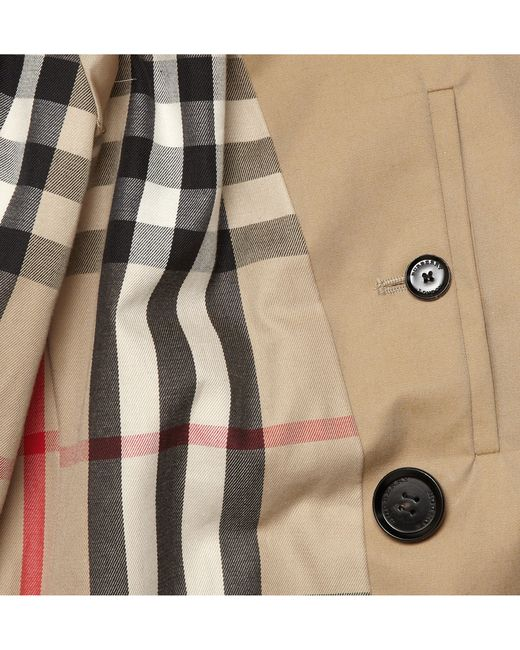Burberry   Natural London Long Cotton-gabardine Trench Coat for Men   Lyst