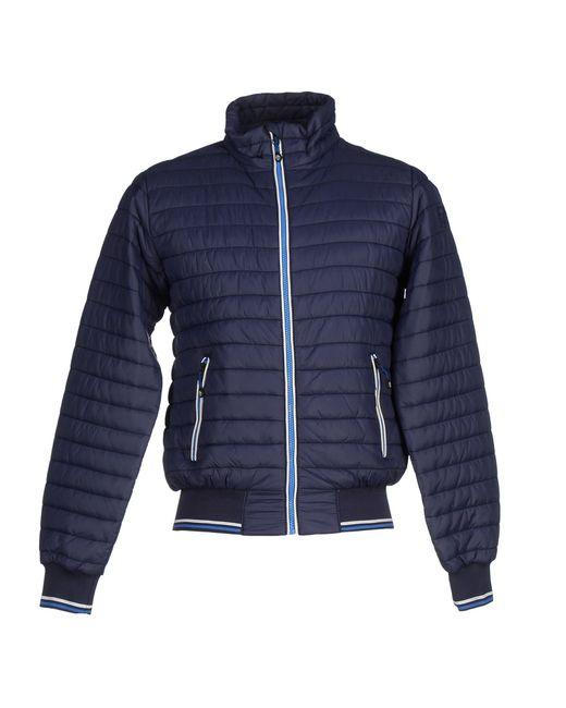 north sails jacket in blue dark blue save 53 lyst. Black Bedroom Furniture Sets. Home Design Ideas