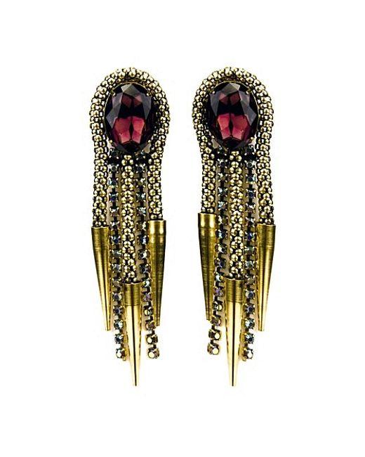 Nicole Romano | Metallic Lance Earrings | Lyst