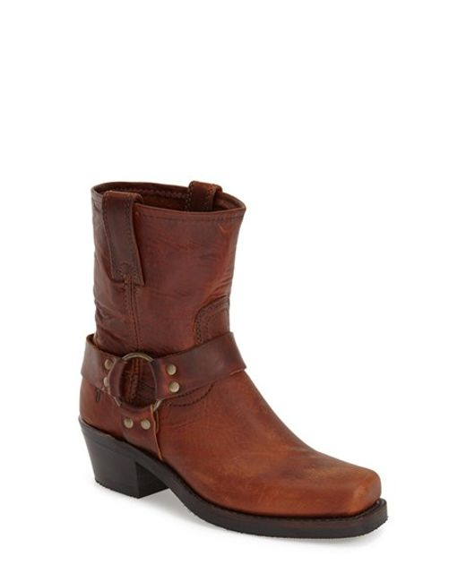 Frye | Brown 'Harness 8R' Boot | Lyst