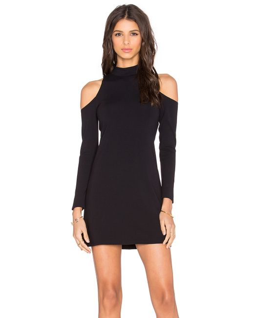 Twenty Shoulder Cut Out Mini Dress In Black Save 63 Lyst