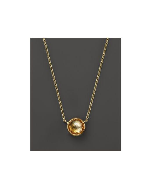 "Ippolita   18k Gold Mini Lollipop Necklace In Orange Citrine, 16""   Lyst"
