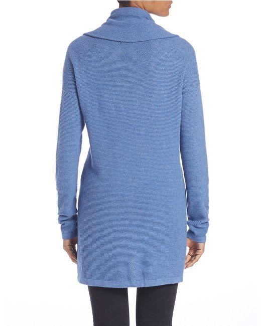 Lord & Taylor | Blue Plus Drop-shoulder Cowl-neck Sweater | Lyst