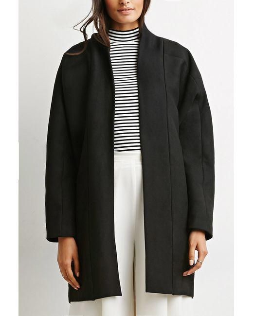 Forever 21   Black The Fifth Label The Great Divide Coat   Lyst
