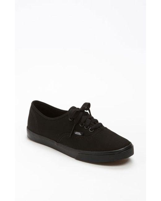 Vans   Black 'authentic - Lo Pro' Sneaker   Lyst
