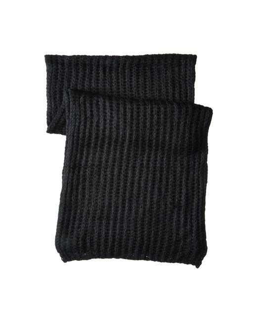 Hat Attack | Black Rib Scarf | Lyst