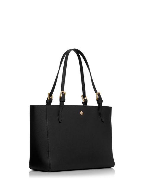 Tory Burch | Black York Small Buckle Tote | Lyst