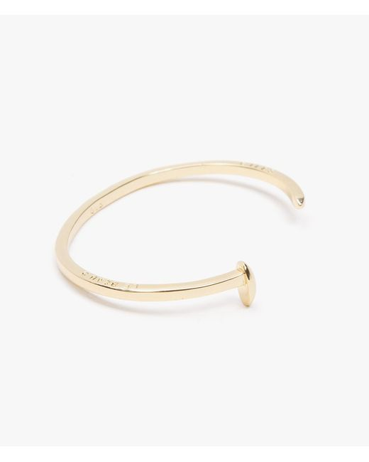 Giles & Brother | Metallic Mini Railroad Spike Cuff | Lyst