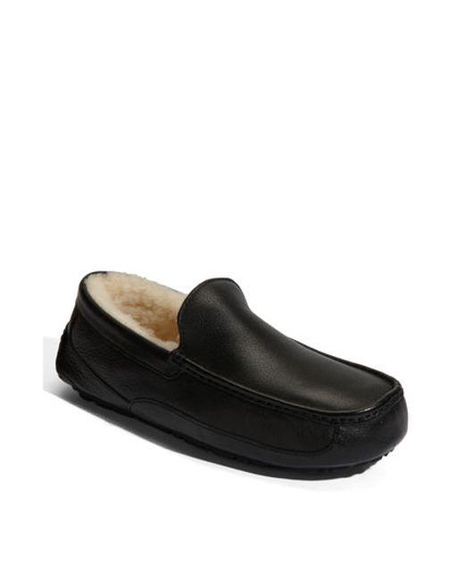 ugg ascot mens slipper sale