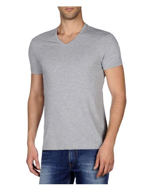 Napapijri | Gray Short Sleeve T-shirt for Men | Lyst