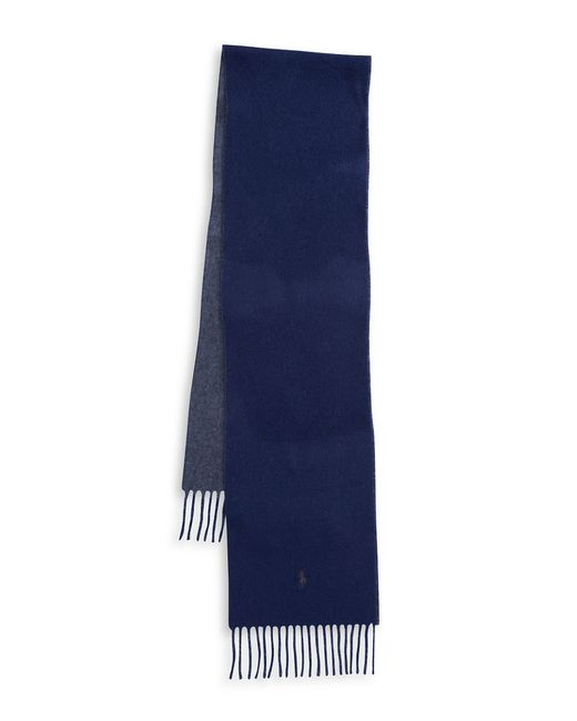 Polo Ralph Lauren | Blue Wool-blend Scarf for Men | Lyst