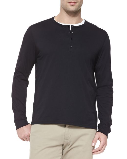 Free shipping and returns on Men's Long Sleeve Henley T-Shirts at cybergamesl.ga