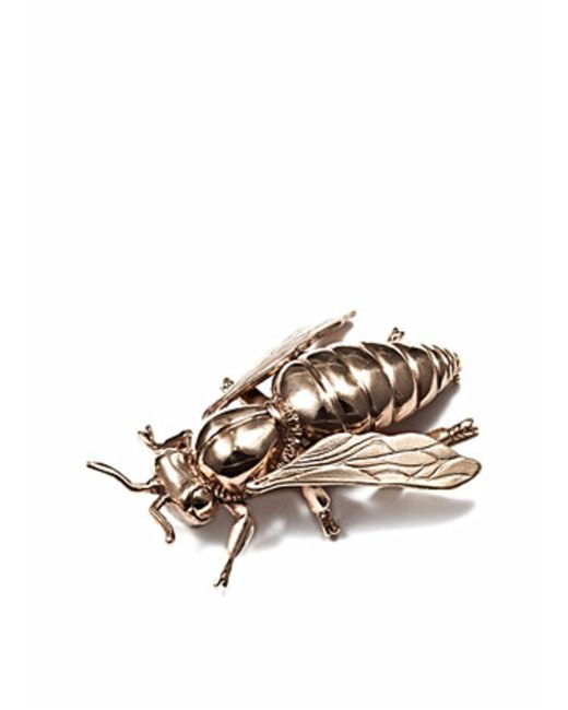 Bernard Delettrez | Metallic Bee Brooch | Lyst