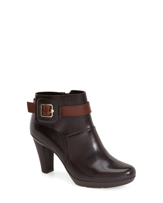 Geox | Brown Inspiration Leather Boots  | Lyst