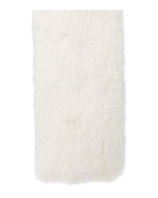 Helen Moore | Black Long Faux Fur Switch Scarf | Lyst