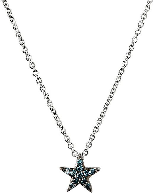 Links of London | Metallic Diamond Essentials Sterling Silver And Diamond Necklace | Lyst