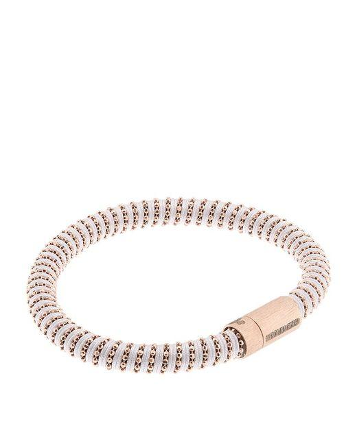 Carolina Bucci | Pink Twister Rose-Gold Plated Bracelet | Lyst
