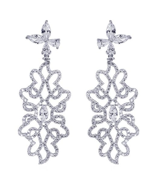 Carat* | Metallic Godiva Heroines Chandelier Earrings | Lyst