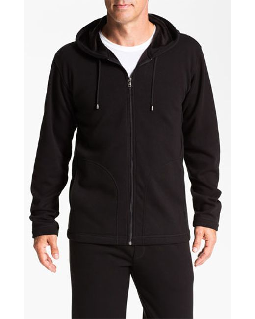 UGG | Black Ugg 'bownes' Zip Hoodie for Men | Lyst