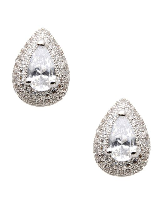 CZ by Kenneth Jay Lane | Metallic Earrings | Lyst