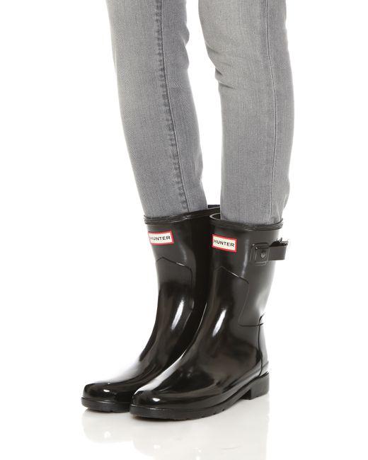 Hunter Women S Original Refined Short Wellington Boots In