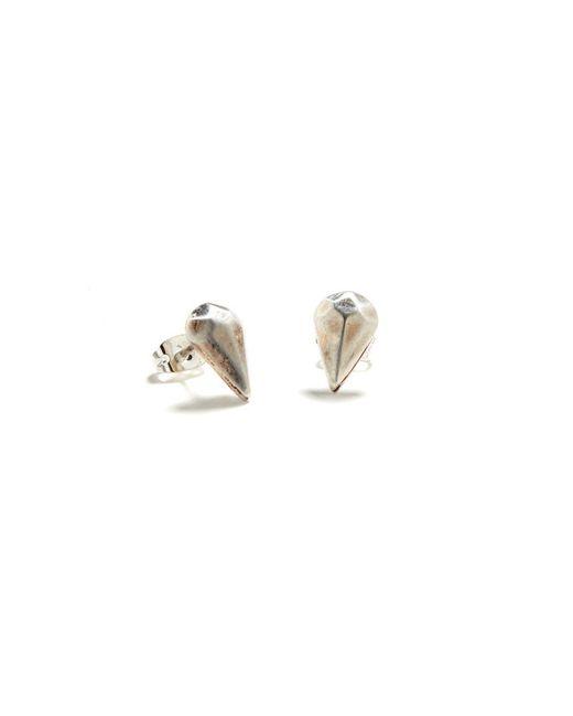 Bing Bang | Metallic Diamond Drop Studs | Lyst
