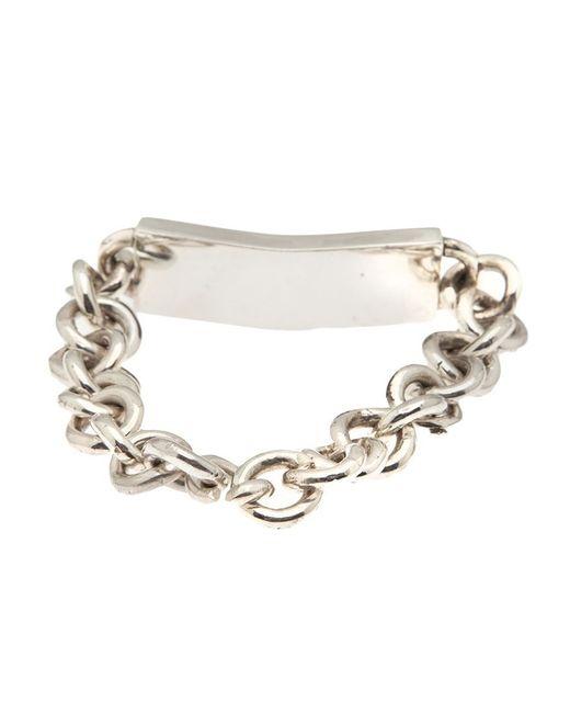 Henson   Metallic 'i.d.' Bracelet   Lyst