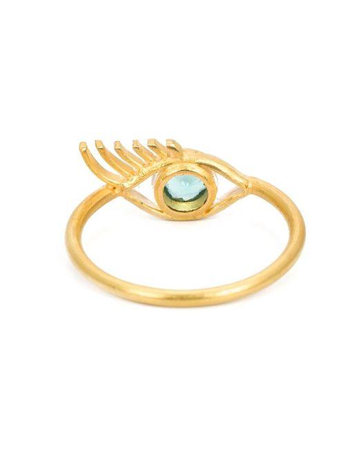 Marie-hélène De Taillac | Metallic 22kt Gold Eye Ring | Lyst