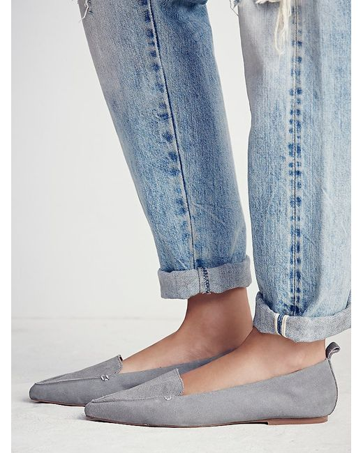 Free People | Gray Lakeside Loafer | Lyst