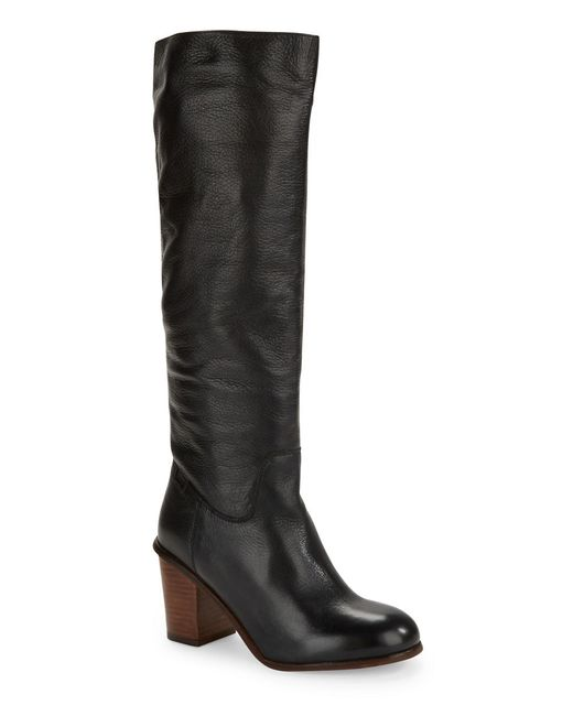 Seychelles | Black Obsidian Leather Boots | Lyst