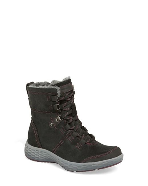 Cobb Hill | Black 'freshexcite' Waterproof Lace-up Boot | Lyst