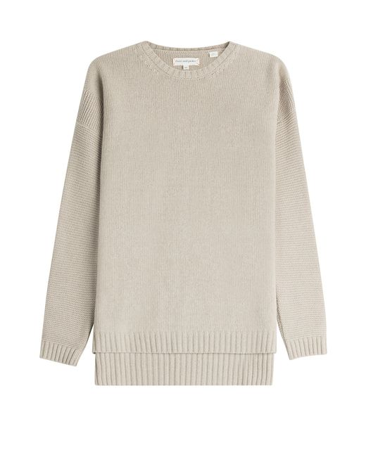 Chinti & Parker | Wool Pullover - Beige | Lyst