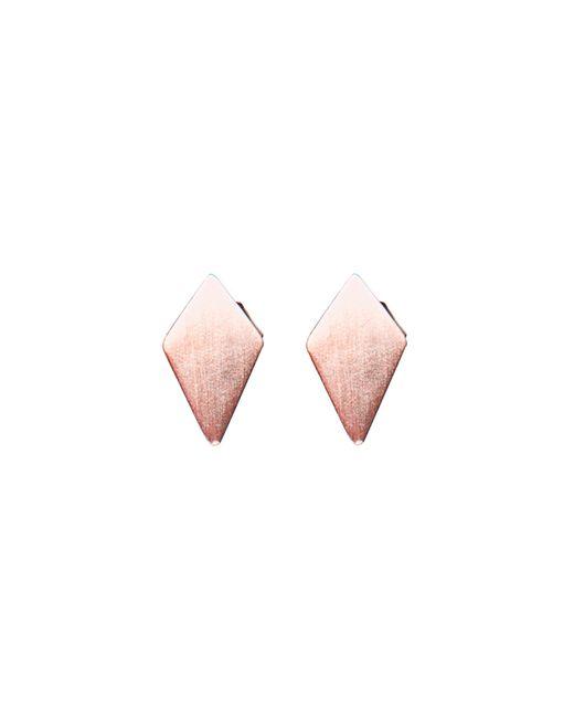 Dutch Basics | Pink Ruit Stud Earrings | Lyst
