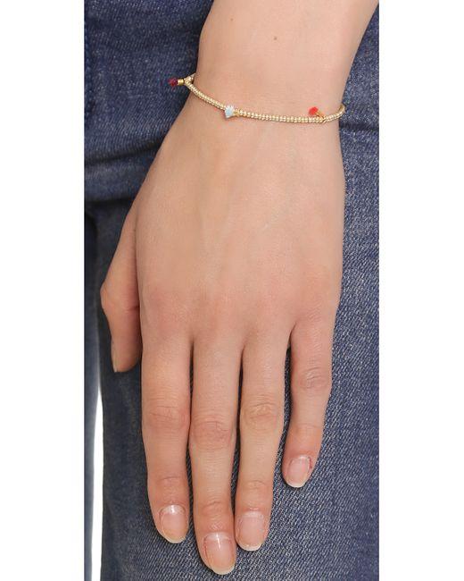 Shashi | Pink Lilu Seed Bracelet | Lyst