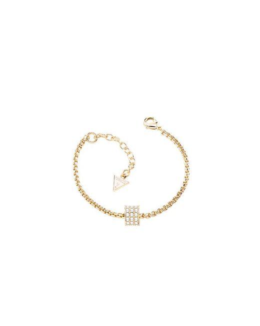 Guess | Metallic G Rounds Gold Bracelet | Lyst
