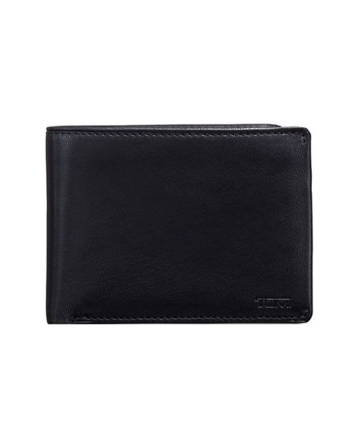 Tumi | Black 'chambers' Leather Wallet for Men | Lyst
