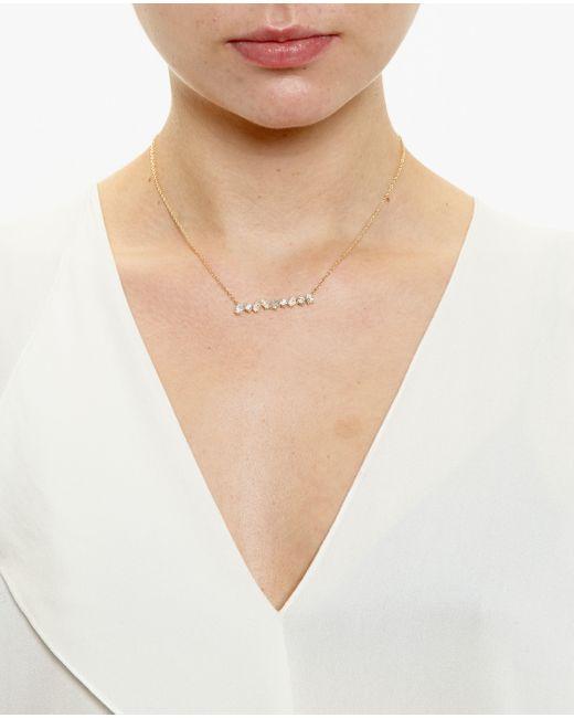 Kimberly Mcdonald | Metallic 18k Yellow Gold Diamond Bar Necklace | Lyst