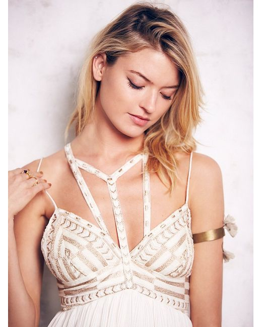 Free People | White Sacred Geometry Dress | Lyst