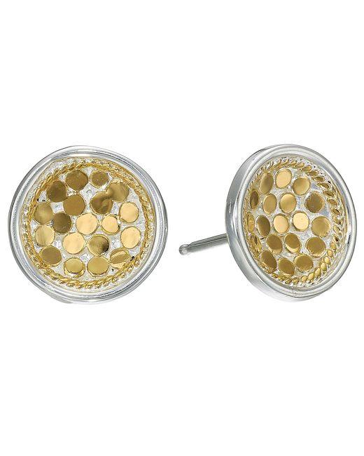 Anna Beck | Metallic Dish Earrings W/ Post | Lyst