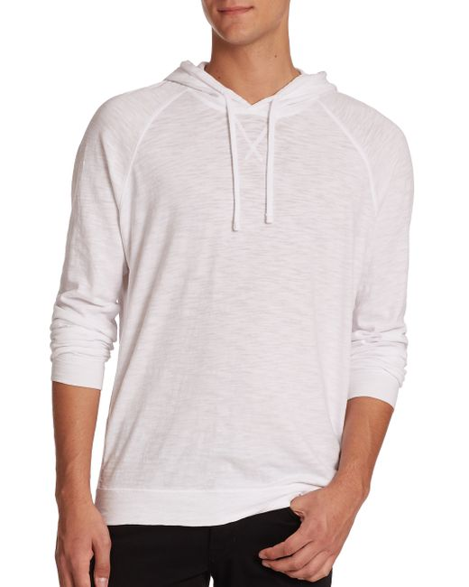 VINCE | White Pullover Hoodie for Men | Lyst