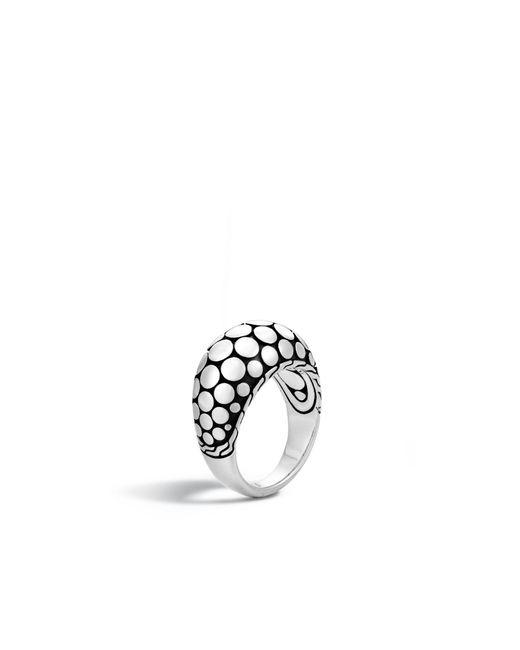 John Hardy   Metallic Dome Ring   Lyst