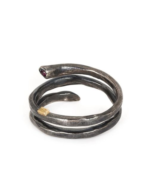 Rosa Maria   Metallic 'izzy' Spiral Ring   Lyst