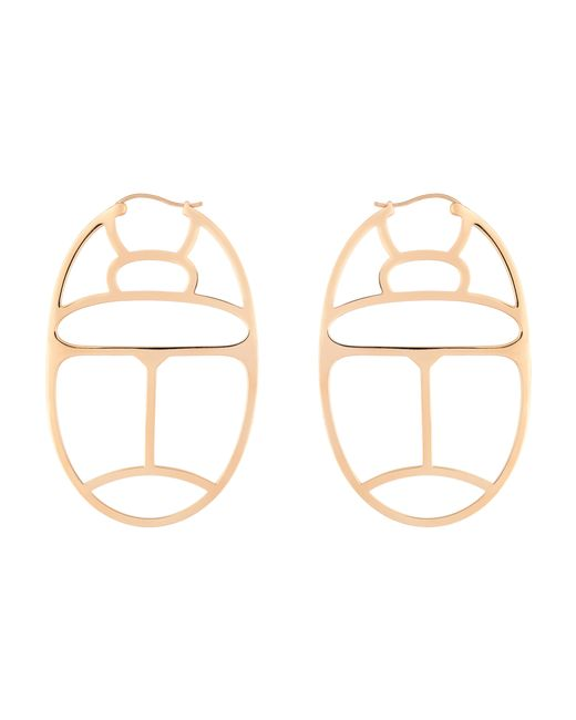 Ginette NY | Metallic Large Wish Hoop Earrings | Lyst