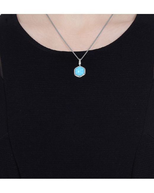 Stephen Webster | Blue Mini Deco Turquoise Necklace | Lyst